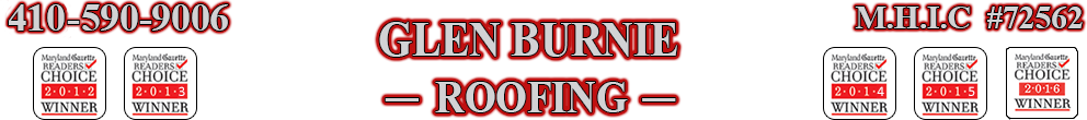 Contact Us | Glen Burnie Roofing